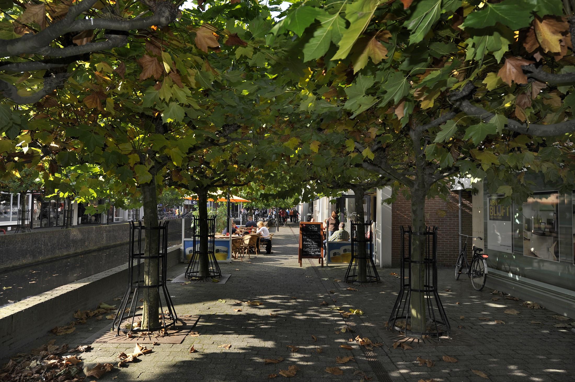 Straat in Leusden