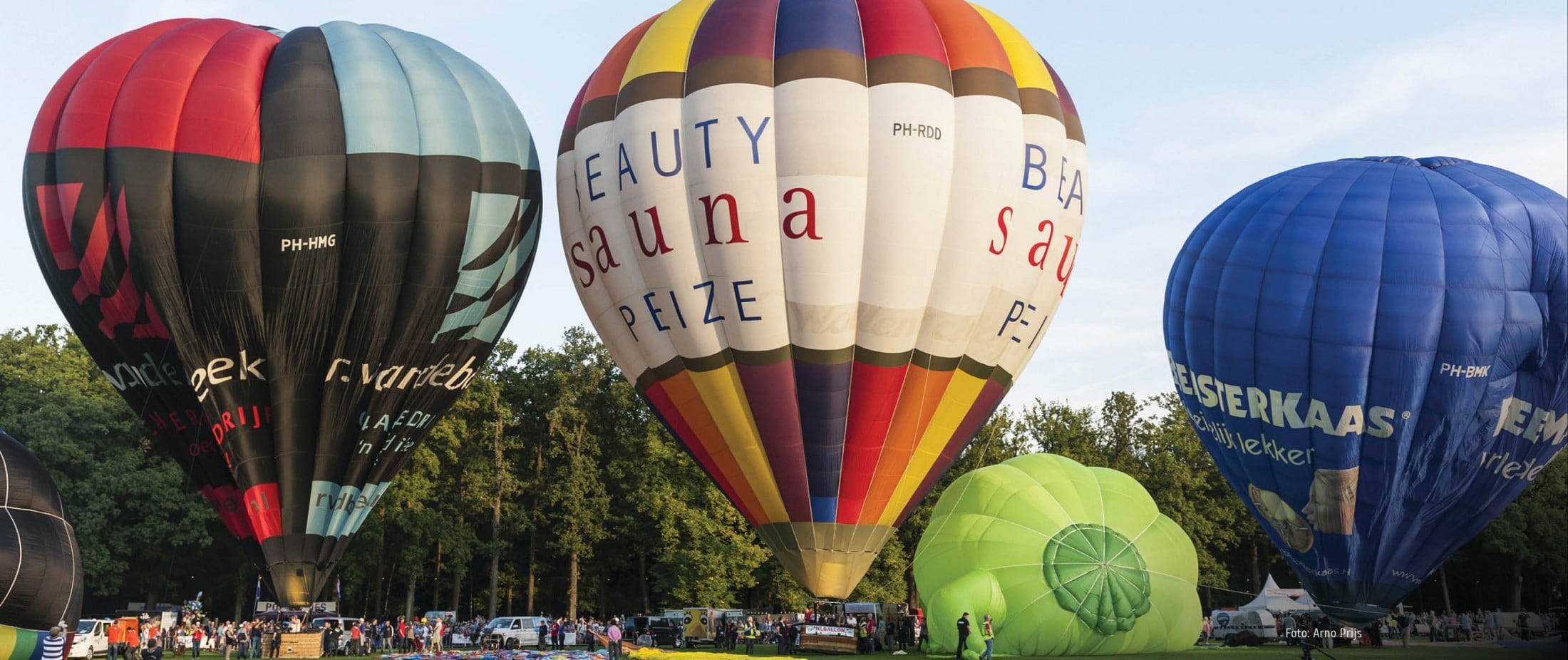 Luchtballonnen festival Barneveld