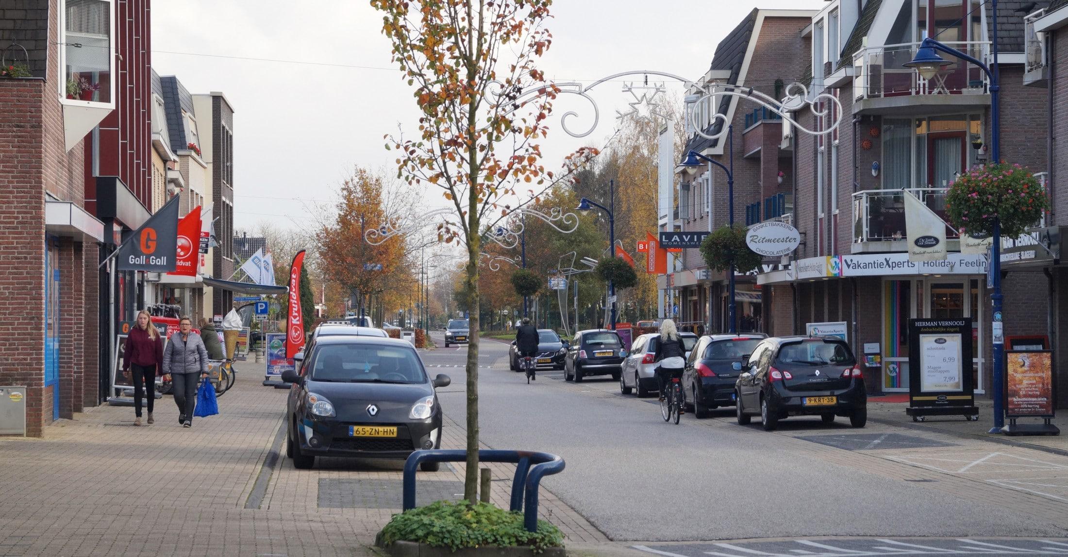 Straat in Woudenberg