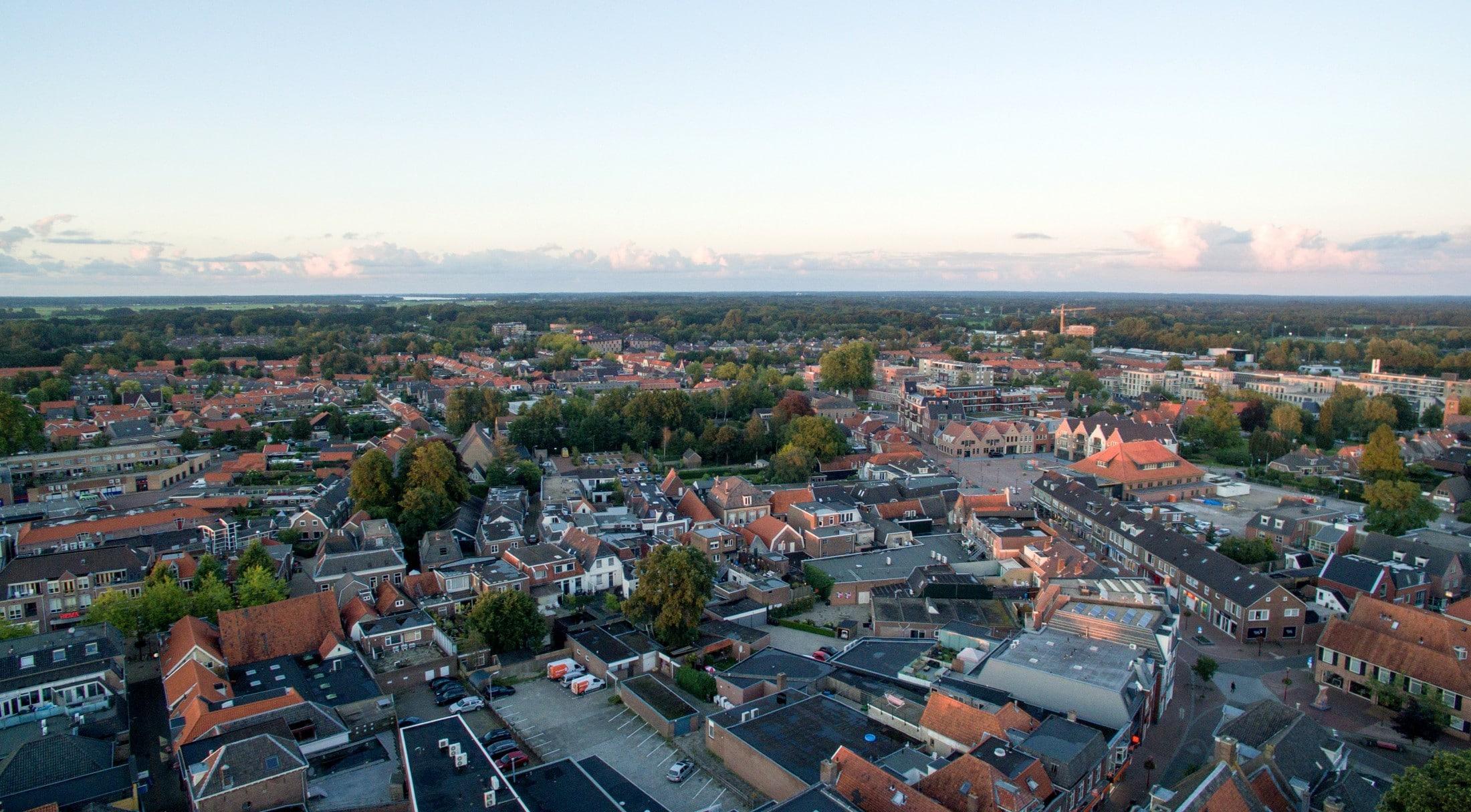 Luchtfoto Nijkerk