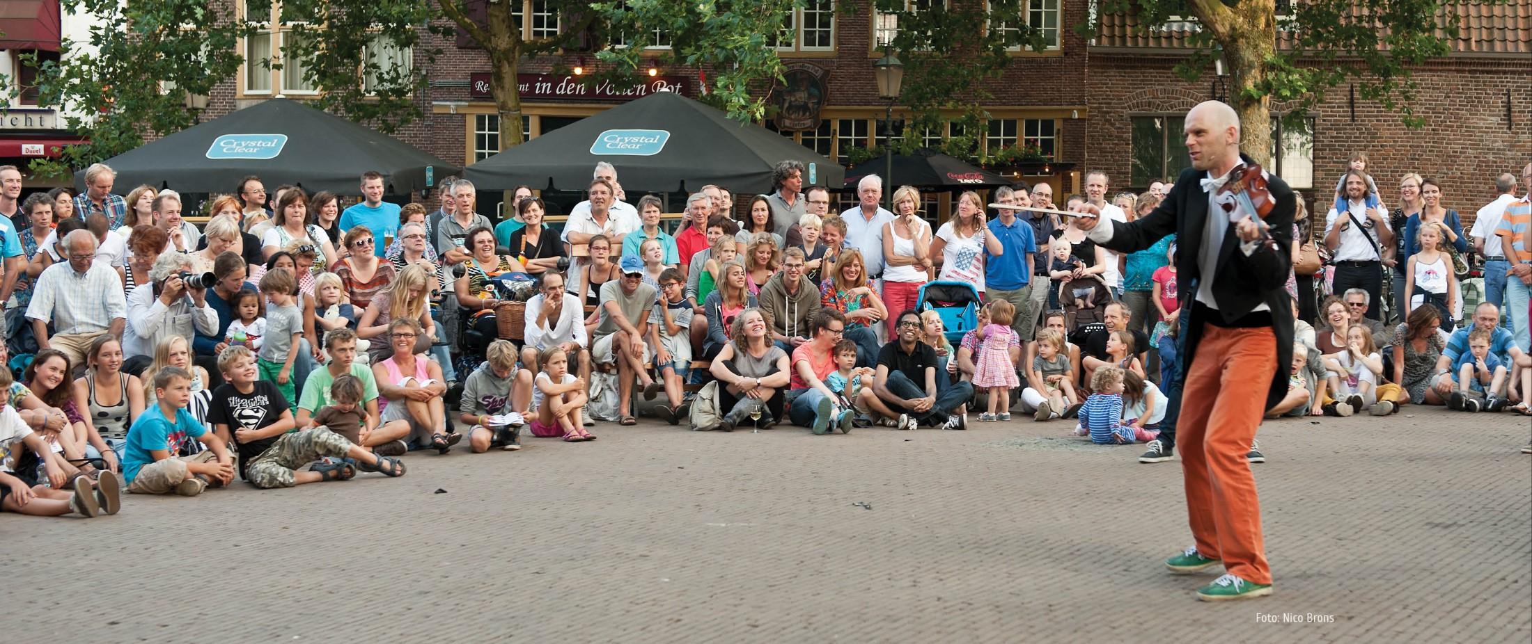 Straattheater in Amersfoort