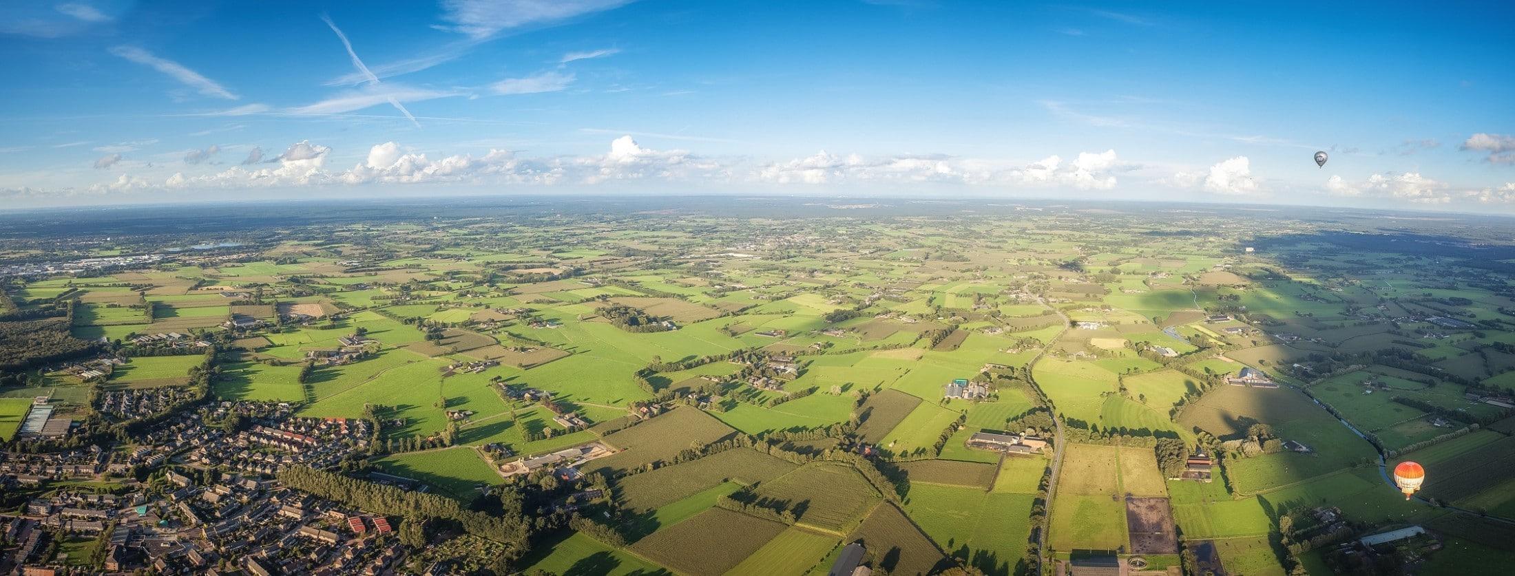 Barneveld vanuit de lucht