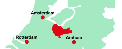 Afbeelding van regio Amersfoort in Nederland